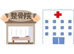 整骨院と医療機関併用
