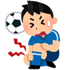 捻挫・肉離れ・スポーツ外傷イメージ